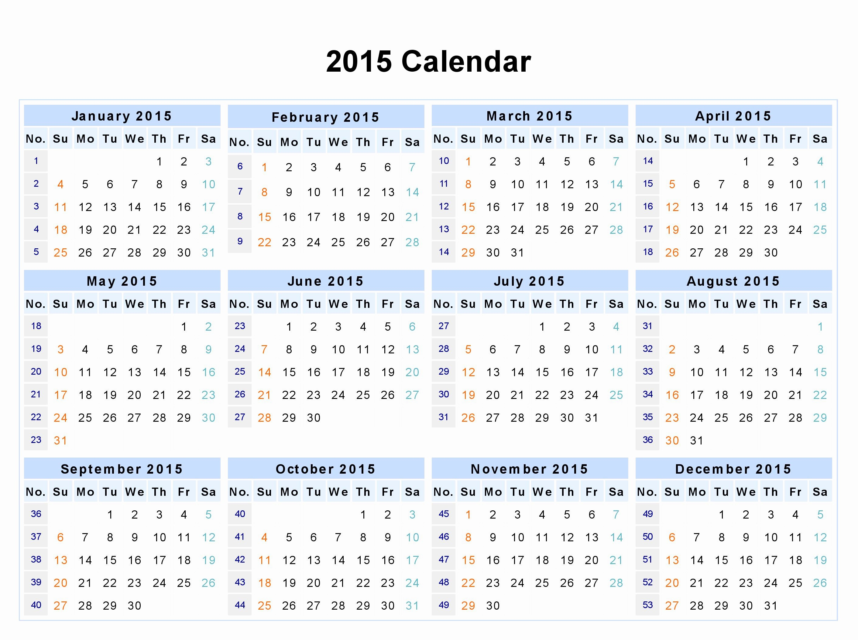 Free Printable 12 Month Calendar Inspirational 12 Month Calendar 2015 Google Search