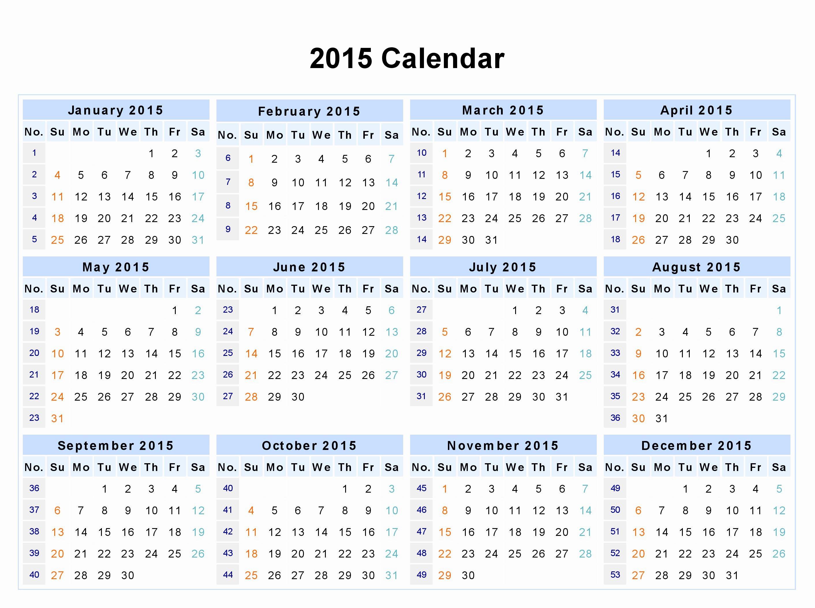 Free Printable 12 Month Calendar Inspirational 12 Month Calendar 2015 Google Search