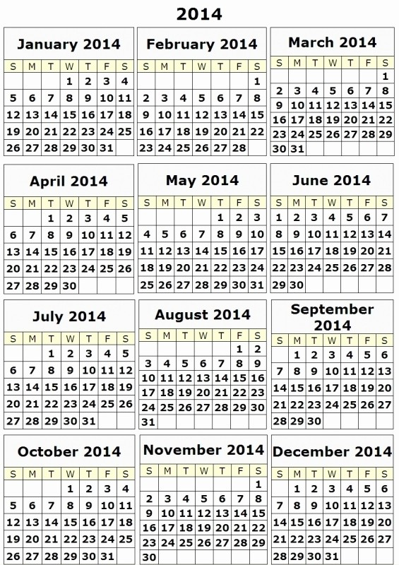 Free Printable 12 Month Calendar Inspirational 12 Month Calendar Printable Free Free Calendar Template