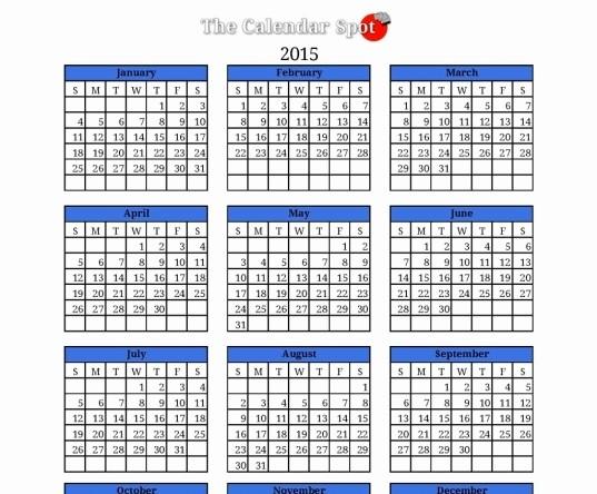 Free Printable 2016 attendance Calendar Fresh Printable Employee attendance Calendar 2016