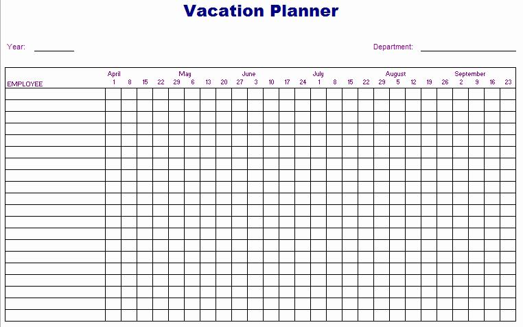 Free Printable 2016 attendance Calendar Luxury 8 Best Of Vacation Tracker Calendar 2016 Printable