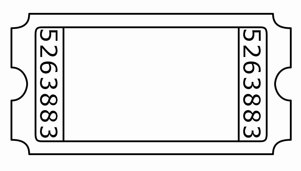 Free Printable Admission Ticket Template Unique Blank Printable Concert Tickets Admission Ticket Template