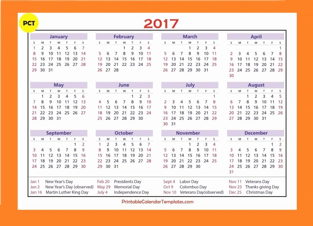 Free Printable Annual Calendar 2017 Best Of Free Printable Calendar 2017