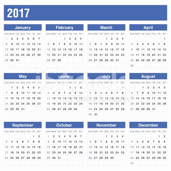 Free Printable Annual Calendar 2017 Lovely Printable Calendar 2017