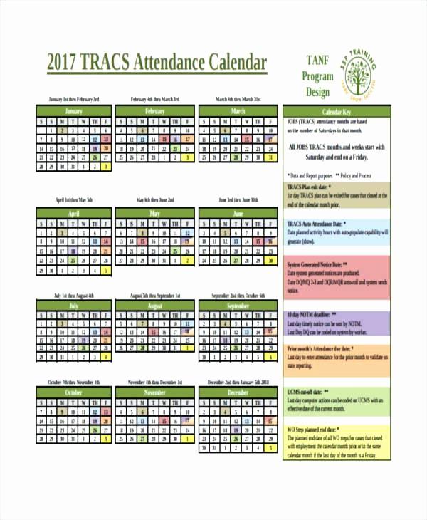 Free Printable attendance Calendar 2016 Beautiful Employee attendance Calendar Template Calendars Printable