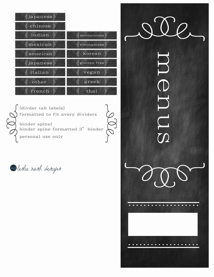 Free Printable Binder Spine Labels Awesome Binder Cover Spine & Divider Labels