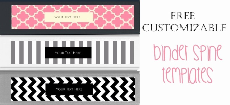 Free Printable Binder Spine Labels Awesome Binder Spine Template Beepmunk