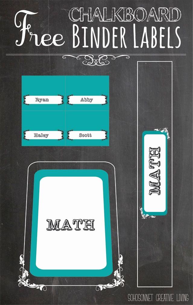 Free Printable Binder Spine Labels Best Of Best 25 Binder Labels Ideas On Pinterest