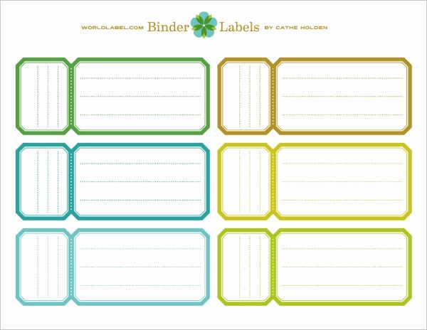 Free Printable Binder Spine Labels Lovely Binder Labels In A Vintage theme by Cathe Holden