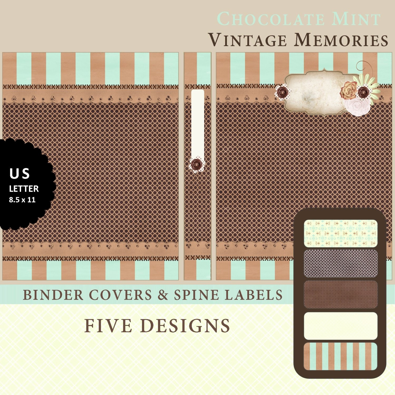 Free Printable Binder Spine Labels Luxury Printable Binder Covers & Spine Label Inserts by