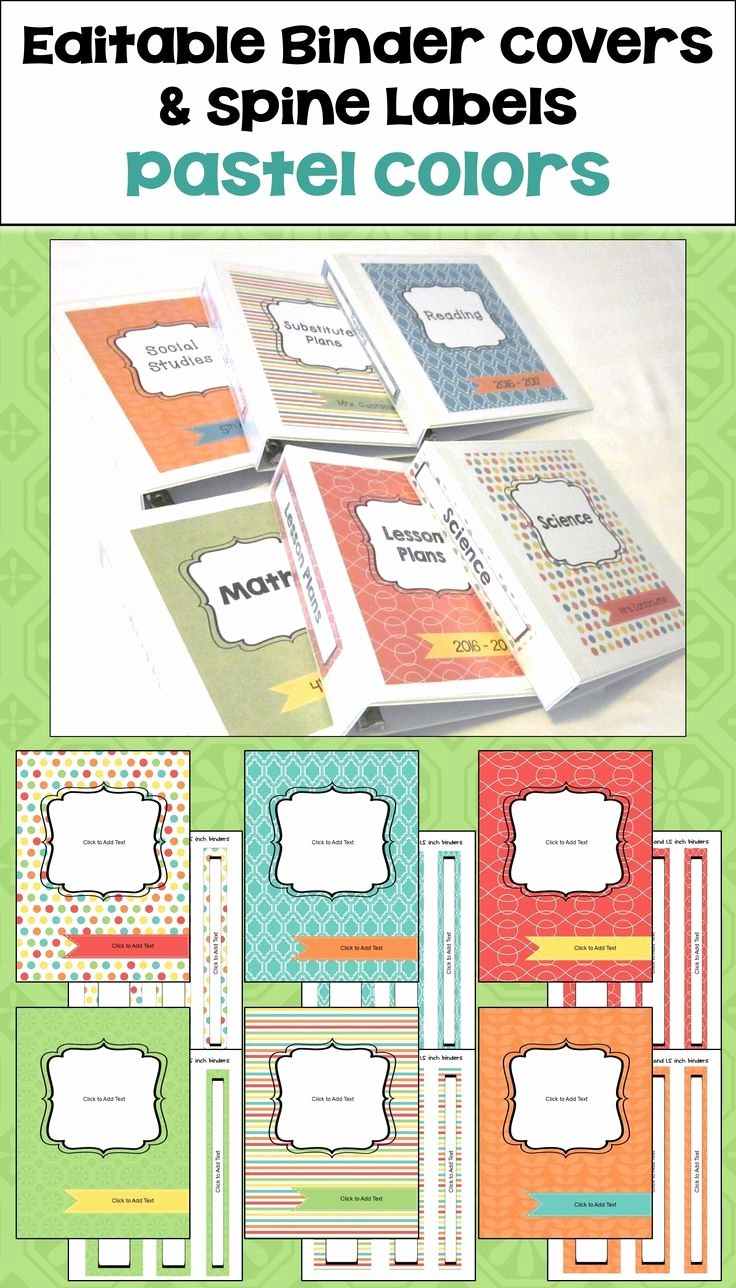 Free Printable Binder Spine Labels Unique Best 25 Binder Spine Labels Ideas On Pinterest