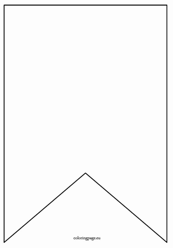 Free Printable Birthday Banner Templates Awesome Flag Banner Template Coloring Page