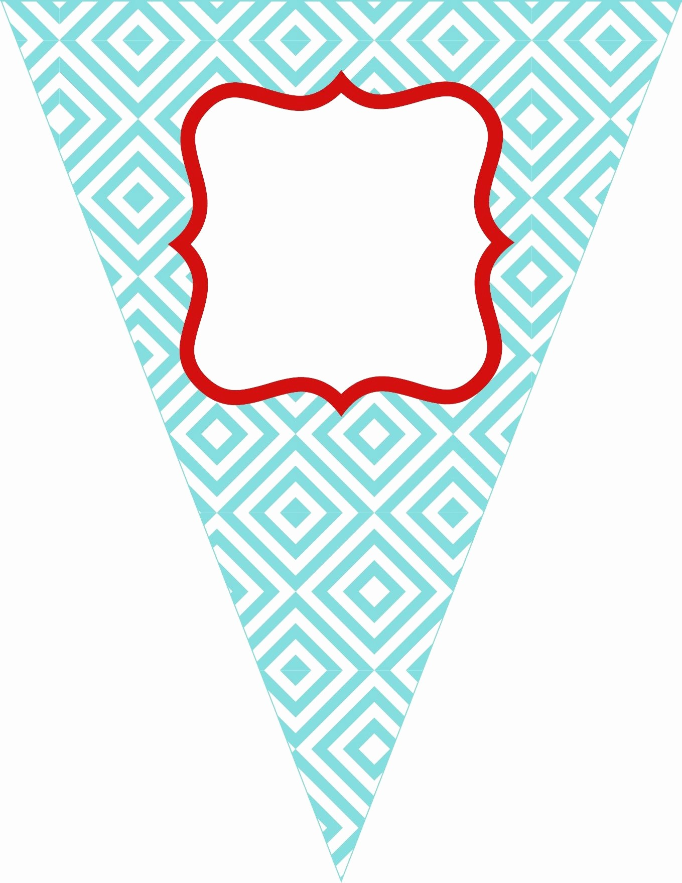 Free Printable Birthday Banner Templates Awesome Free Printable Bunting Love these Colors the Colors I
