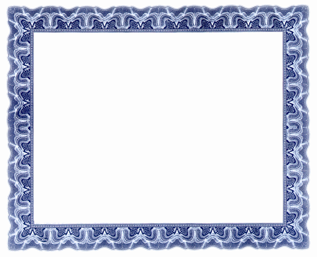 Free Printable Blank Certificate Borders Awesome Certificate Templates