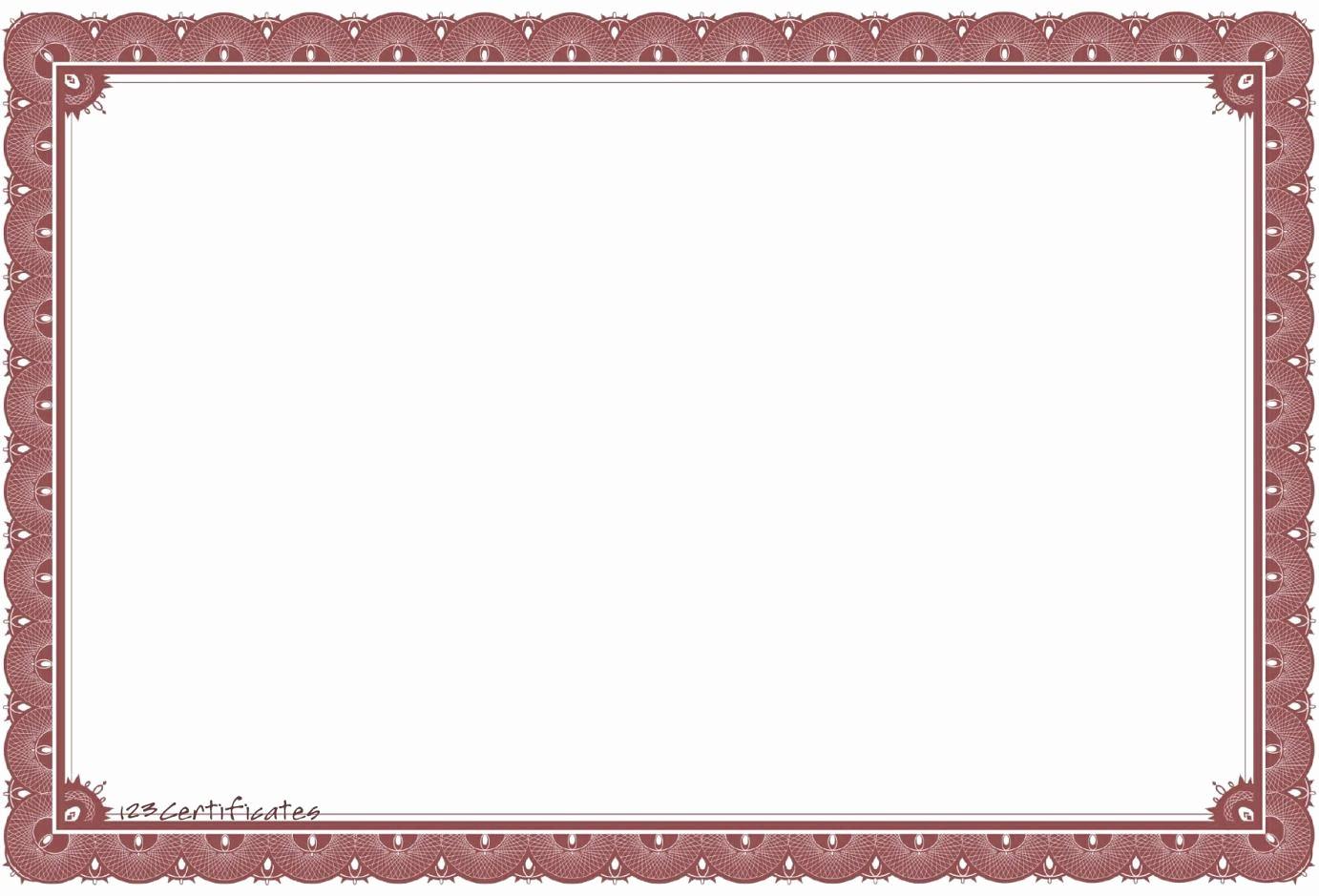Free Printable Blank Certificate Borders Awesome Purple Certificate Template