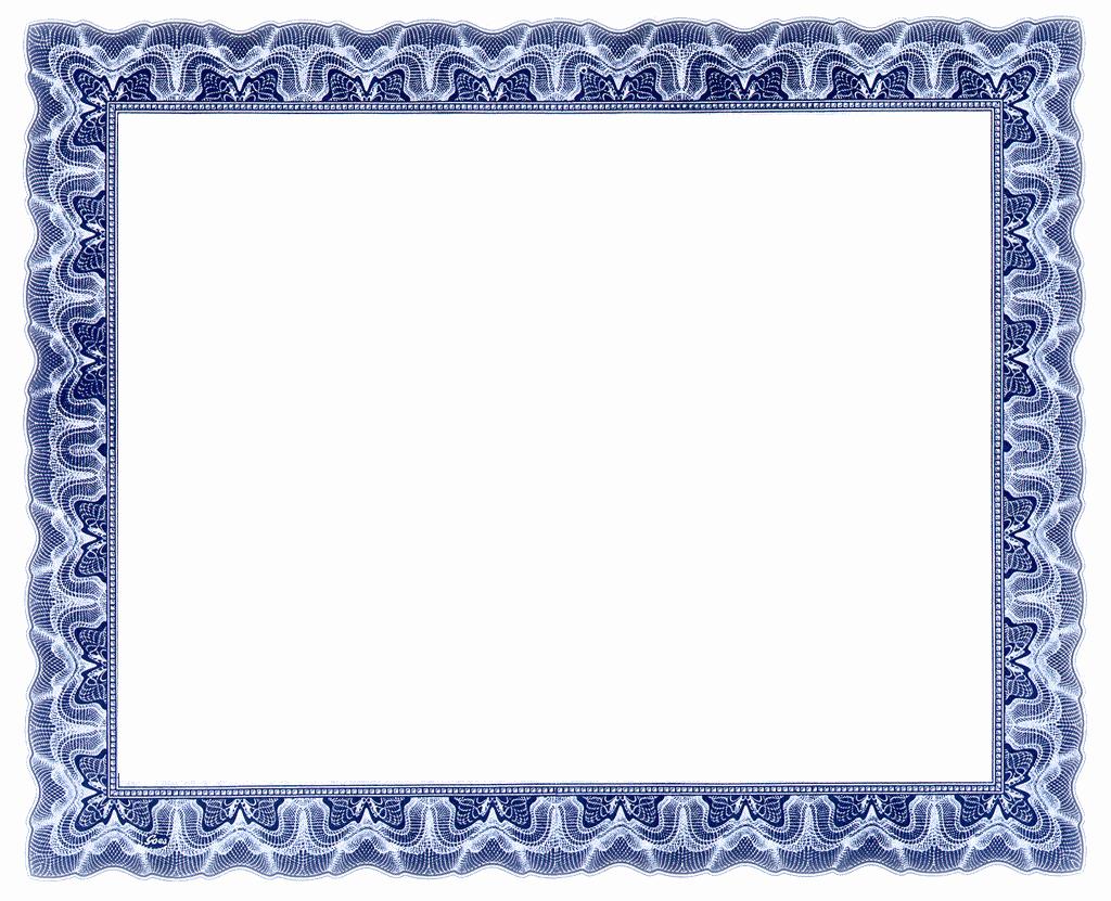 Free Printable Blank Certificate Borders Beautiful 3 Blank Free Certificate Templates