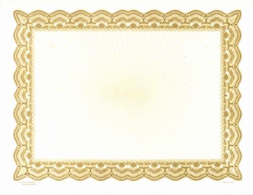 Free Printable Blank Certificate Borders Beautiful Golden Border Certificate Templates