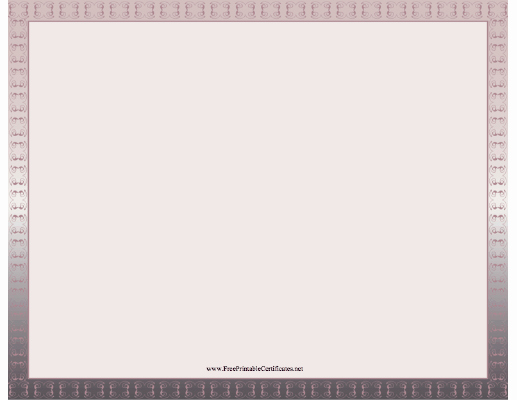Free Printable Blank Certificate Borders Best Of 7 Best Of Free Downloadable Blank Certificate