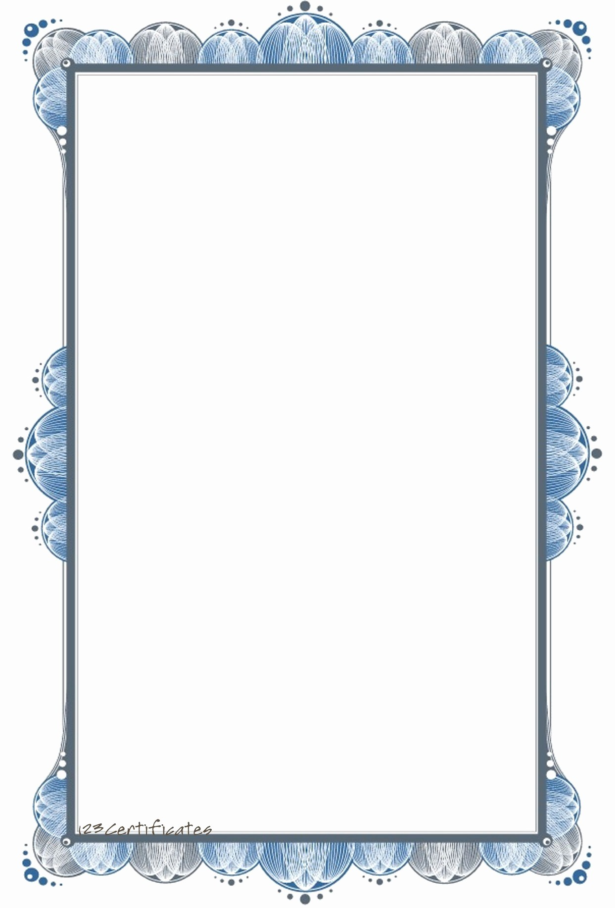 Free Printable Blank Certificate Borders Best Of Professional Border Templates