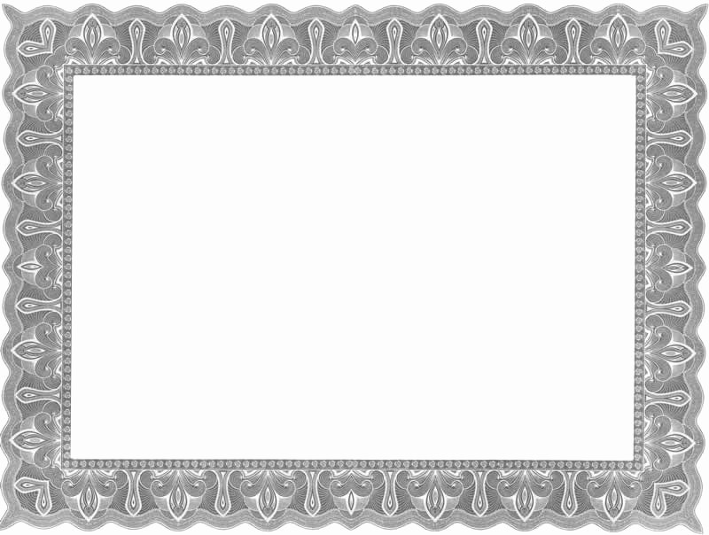 Free Printable Blank Certificate Borders Inspirational 12 Fancy Certificate Border Designs