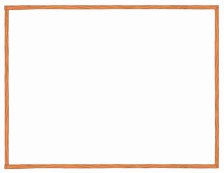 Free Printable Blank Certificate Borders Inspirational Brochure Border Templates Blank Free Printabl