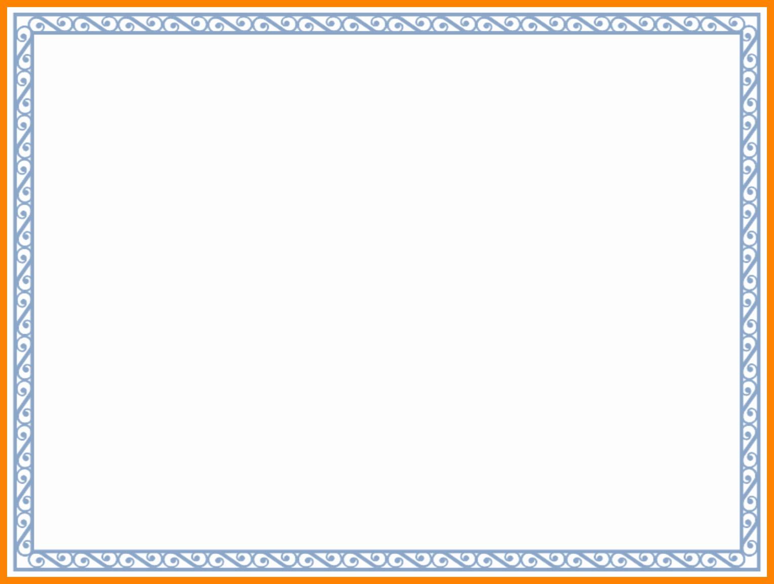 Free Printable Blank Certificate Borders Lovely Border Templates for Certificatesee Certificate Border