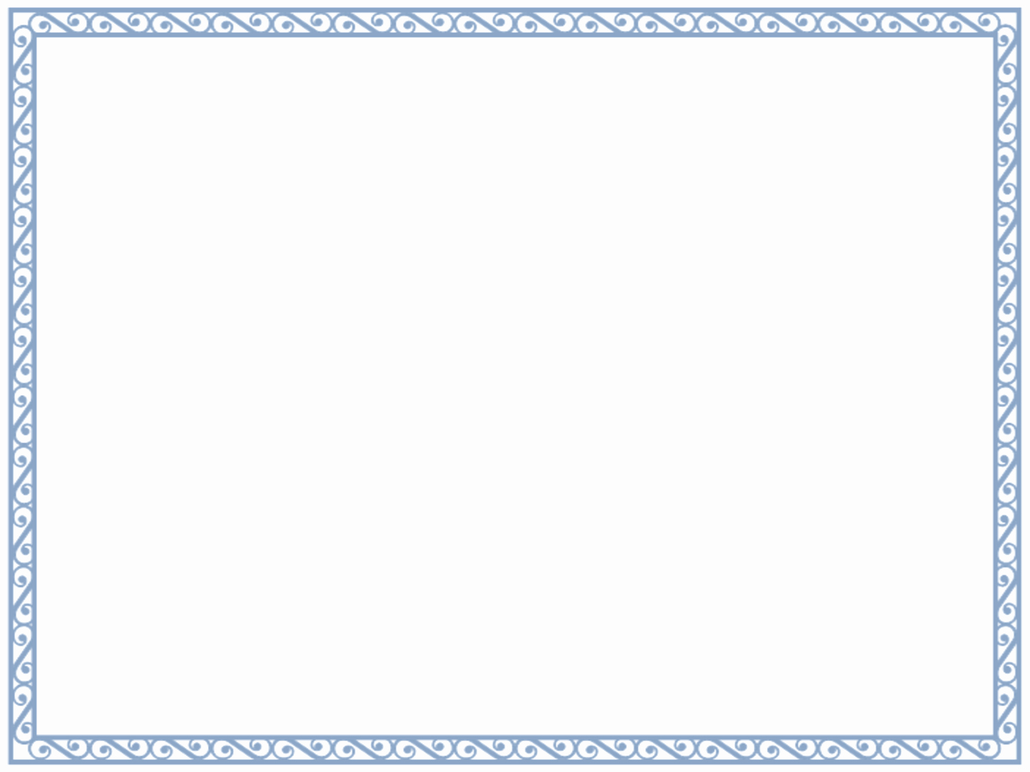 Free Printable Blank Certificate Borders Luxury 5 New Certificate Border Templates