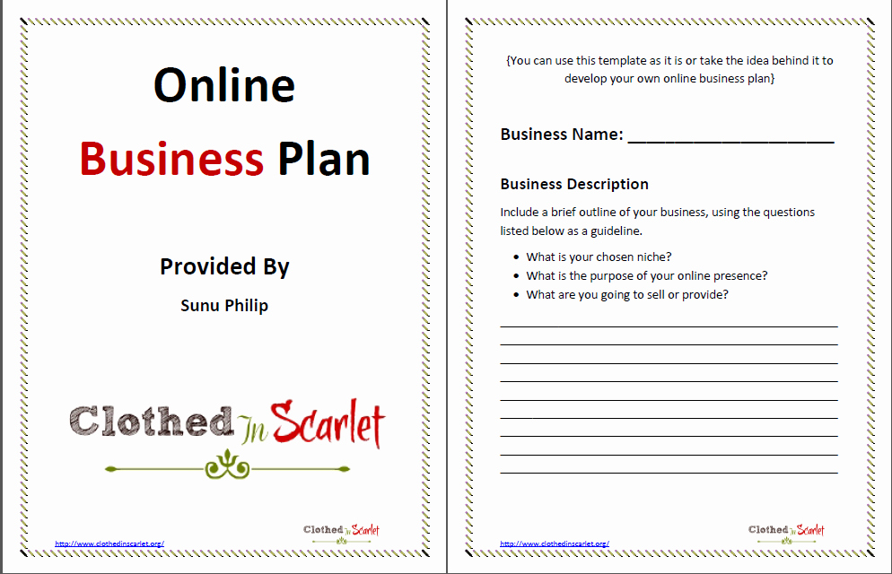Free Printable Business Plan Template Unique Business Plan Template Free Printable Documents