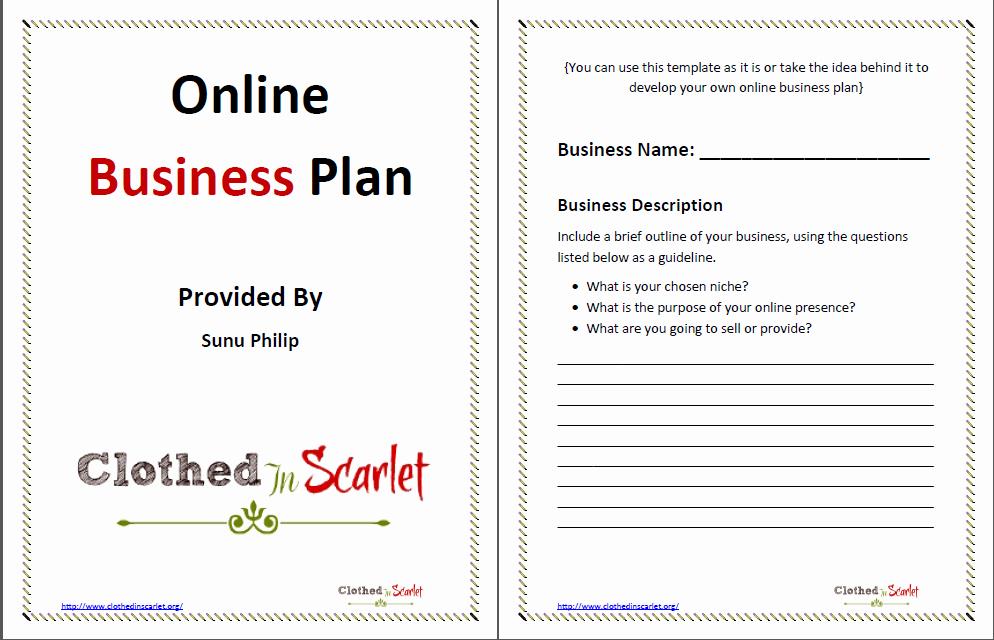 Free Printable Business Plan Template Unique Business Plan Template Free Printable Documents