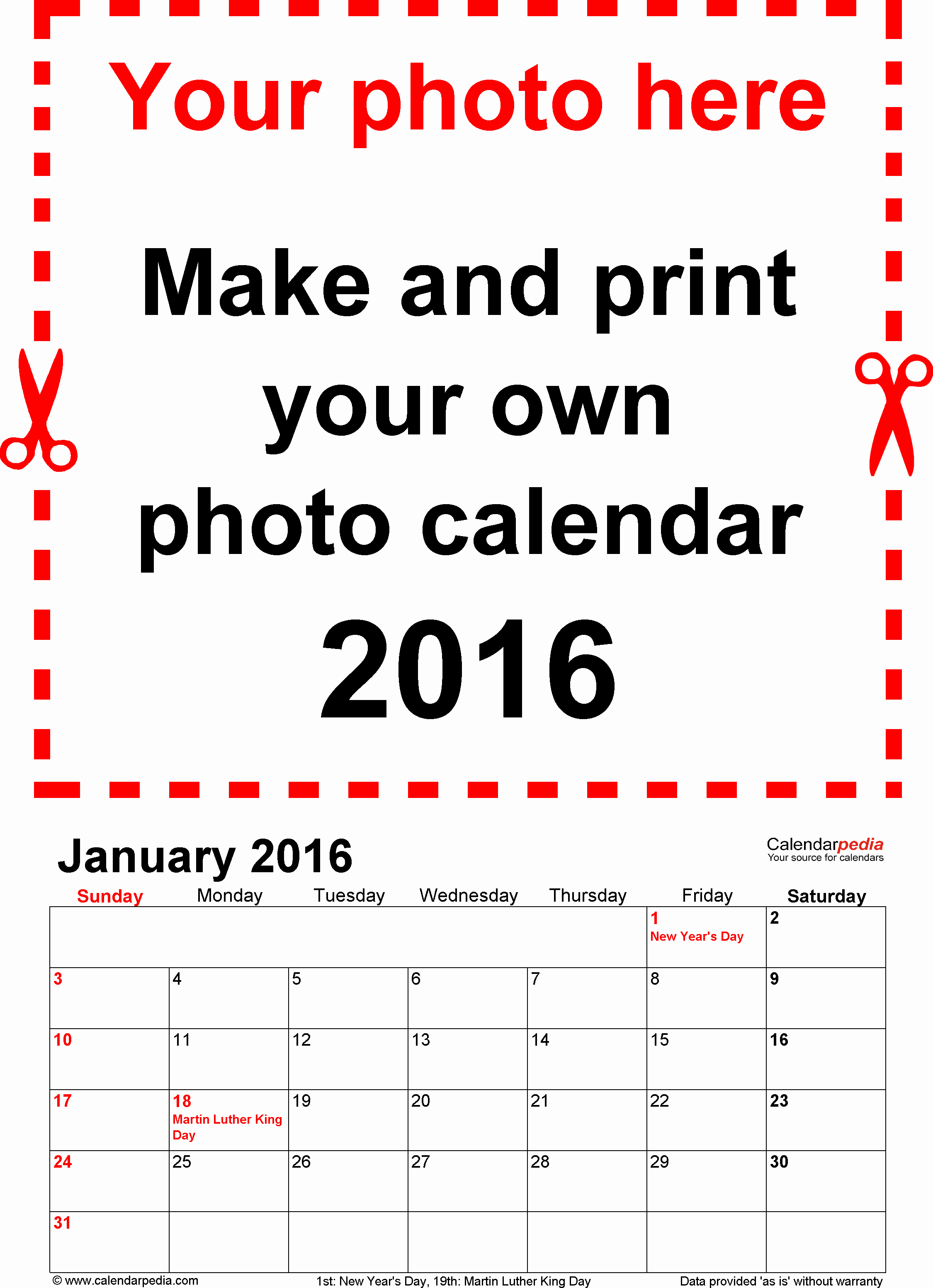 Free Printable Calendar 2016 Templates Unique Calendar 2016 Free Printable Word Templates