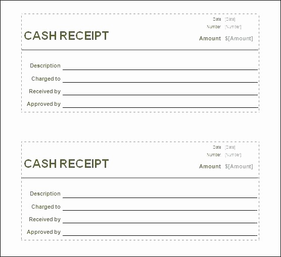 Free Printable Cash Receipt Template Best Of Cash Sheet Template Free – Ensitefo
