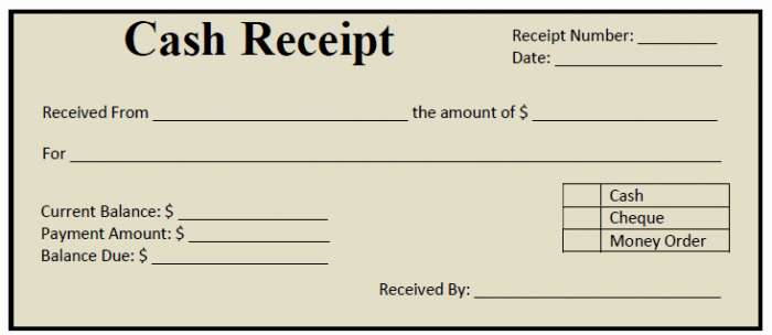 Free Printable Cash Receipt Template Lovely 50 Free Receipt Templates Cash Sales Donation Taxi