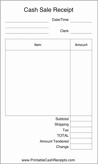 Free Printable Cash Receipt Template Luxury 25 Best Ideas About Receipt Template On Pinterest