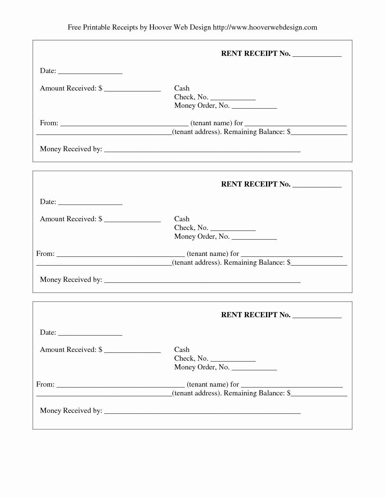 Free Printable Cash Receipt Template New 11 Best Of Free Printable Payment Receipt form