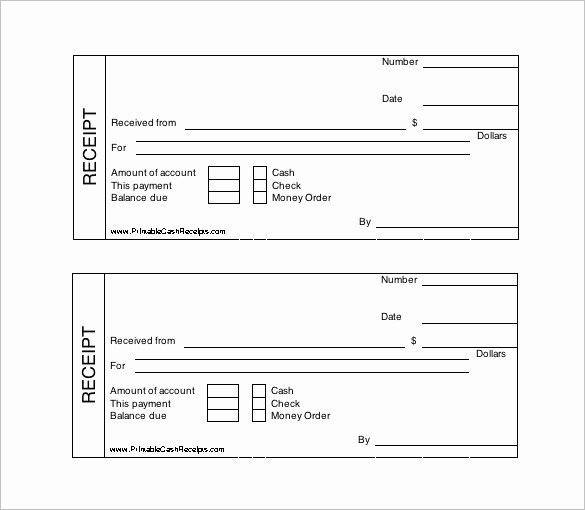 Free Printable Cash Receipt Template New 121 Receipt Templates Doc Excel Ai Pdf