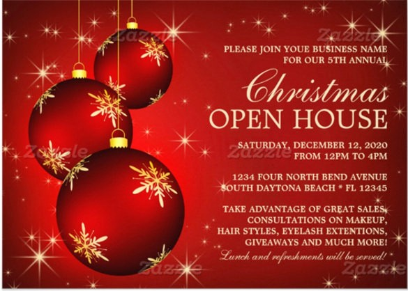 Free Printable Christmas Invitations Cards Awesome Christmas Invitation Card Template for Free Download