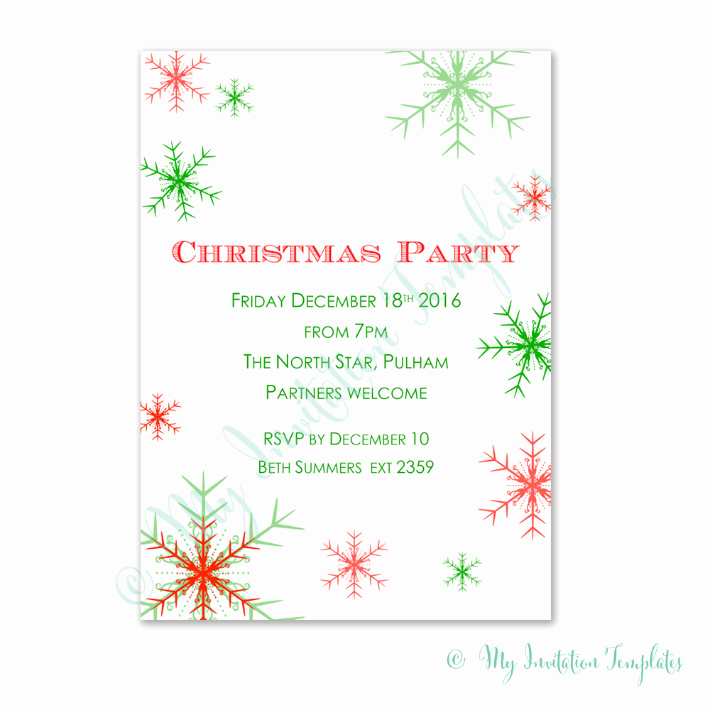 Free Printable Christmas Invitations Cards Luxury Corporate Party Invitation Templates Free Christmas Card