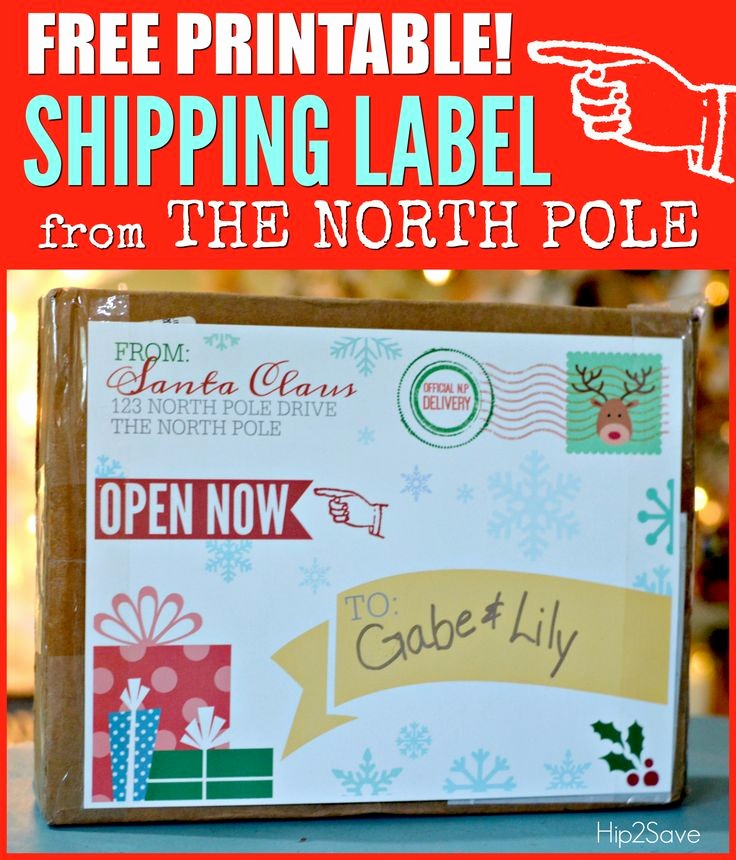 Free Printable Christmas Mailing Labels Awesome 25 Bästa Shipping Label Idéerna På Pinterest