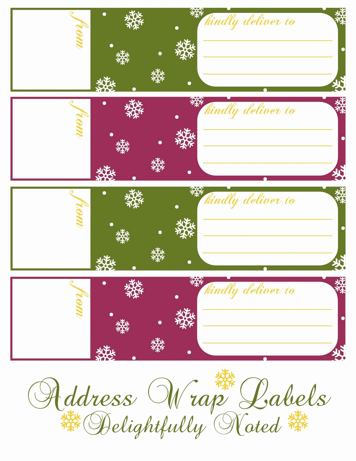 Free Printable Christmas Mailing Labels Best Of Avery Free Printable Address Labels Frompo 1