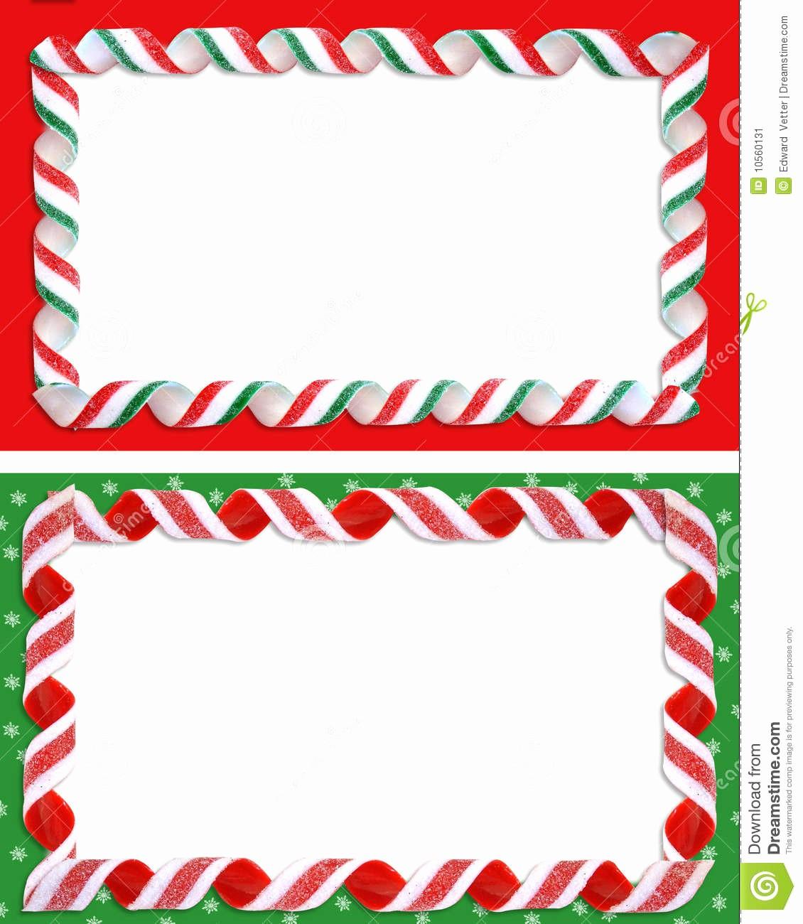 Free Printable Christmas Mailing Labels Elegant Christmas Labels Borders Blank Stock Illustration