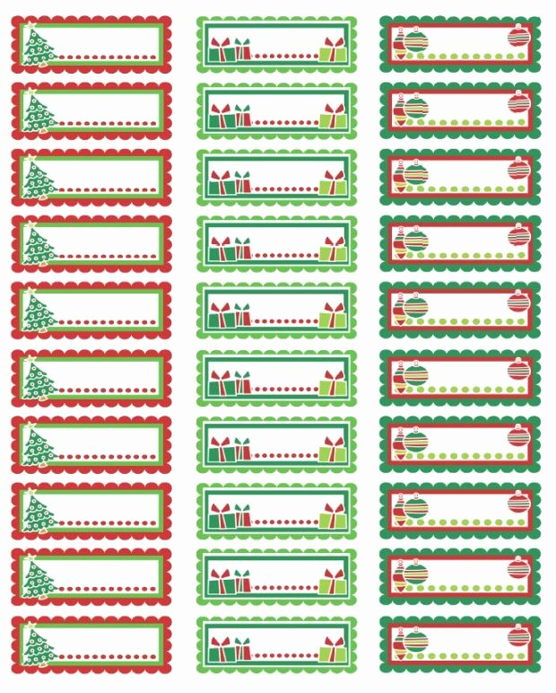 Free Printable Christmas Mailing Labels Lovely Christmas Address Labels or Tags Free Printables
