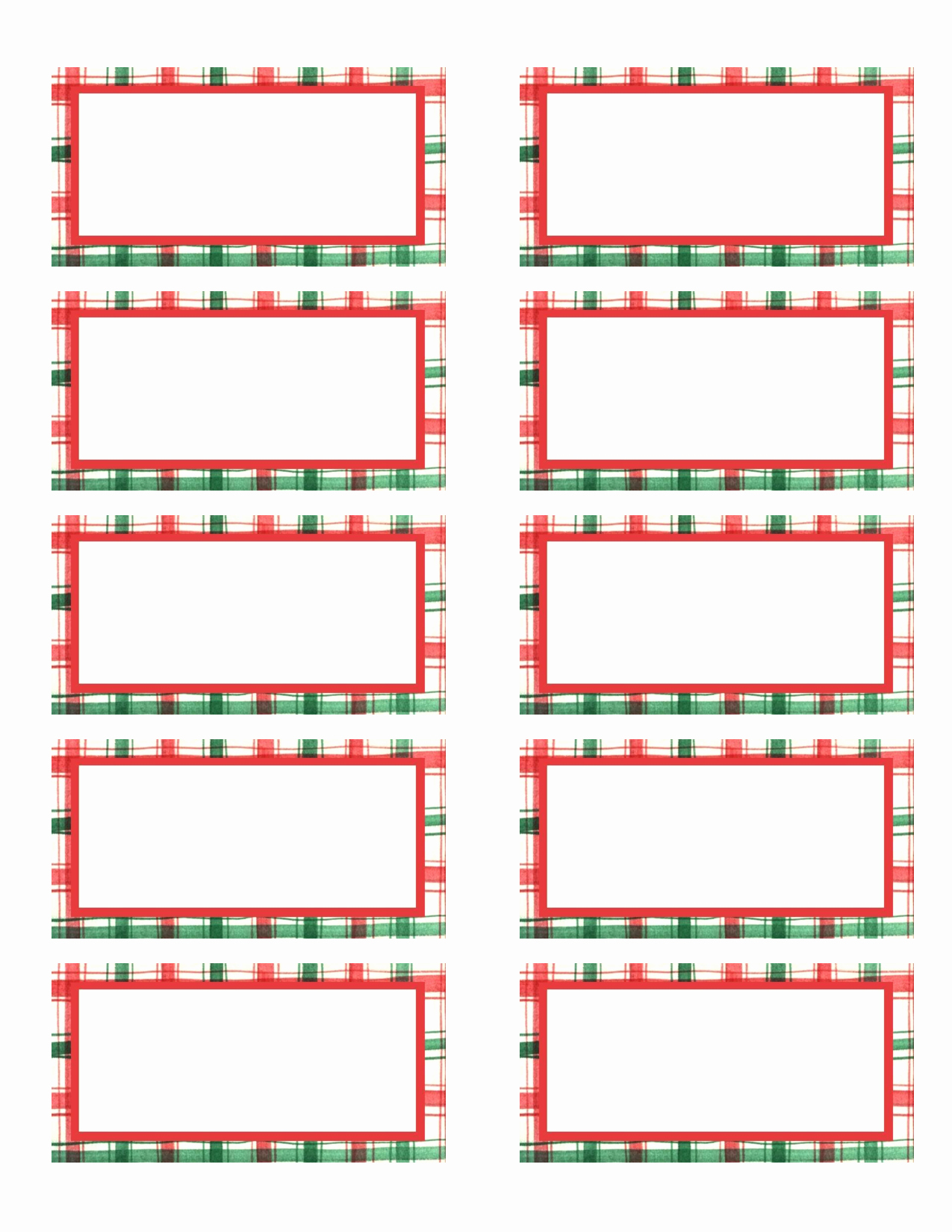Free Printable Christmas Mailing Labels Luxury 7 Best Of Avery Printable Gift Tags Avery