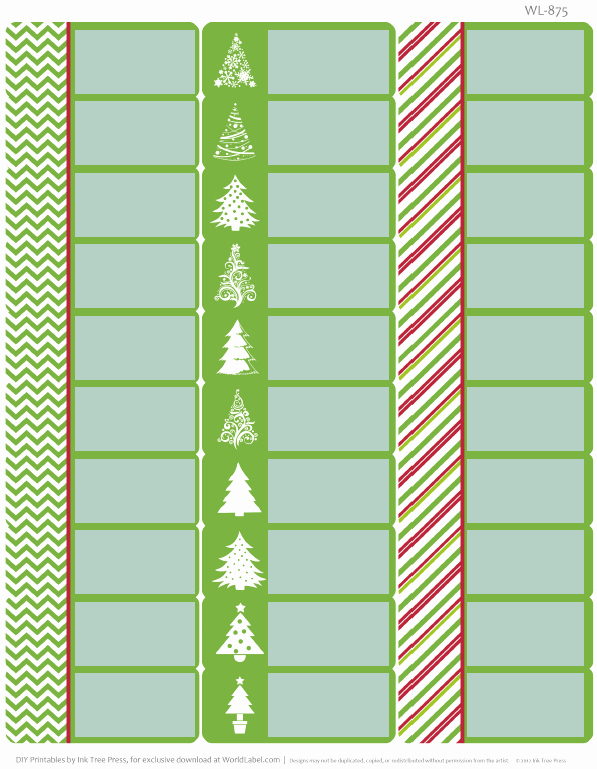 Free Printable Christmas Mailing Labels New Free Printable Holiday Address Labels