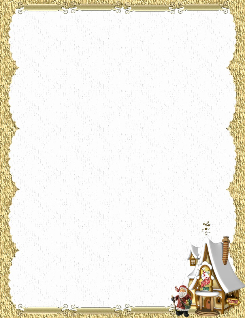Free Printable Christmas Stationery Templates Awesome Stationery to Download Free Tweare