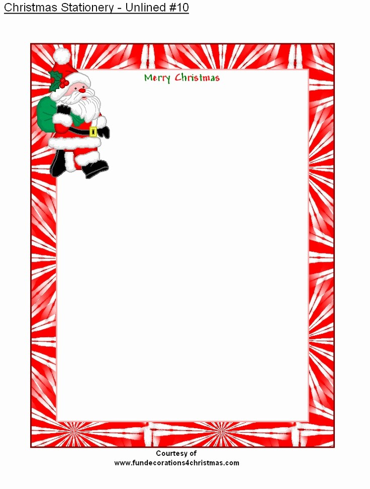Free Printable Christmas Stationery Templates Beautiful 1000 Ideas About Christmas Stationery On Pinterest