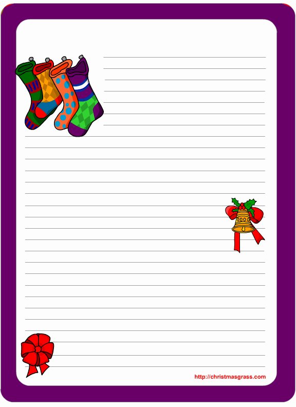 Free Printable Christmas Stationery Templates Beautiful Christmas Stationery Printables
