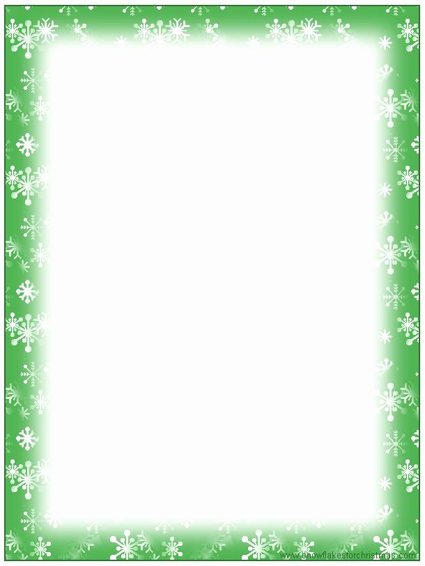 Free Printable Christmas Stationery Templates Elegant 5 Best Of Free Printable Christmas Border Templates