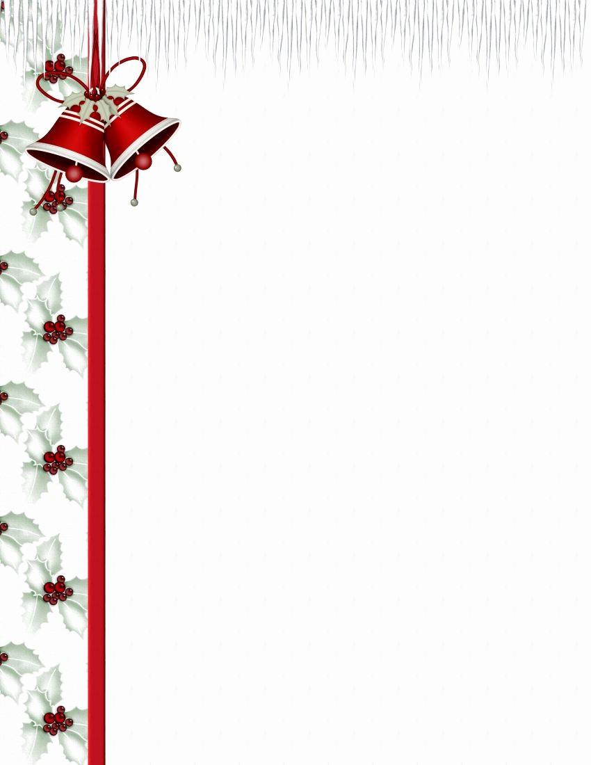 Free Printable Christmas Stationery Templates Elegant Christmas 3 Free Stationery Template Downloads