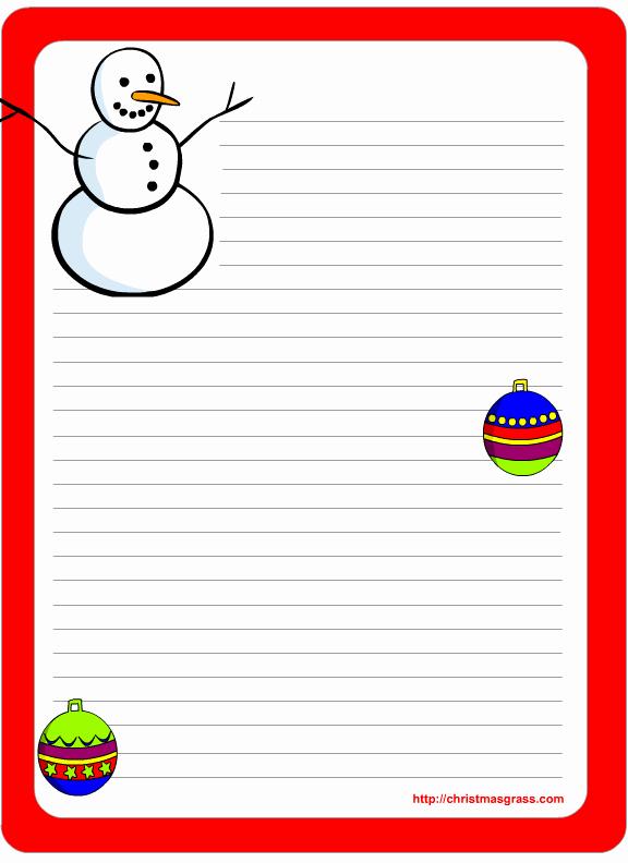 Free Printable Christmas Stationery Templates Elegant Free Printable Christmas and Holiday Stationery