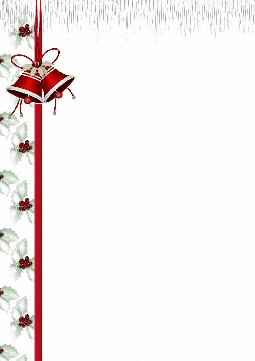 Free Printable Christmas Stationery Templates Fresh Holiday Stationery Paper